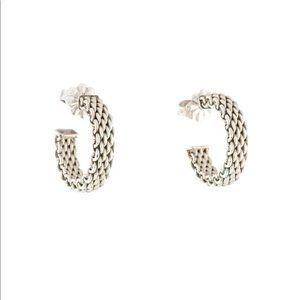 Tiffany & Co Somerset Hoop Earrings